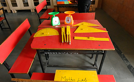Maths Lab Universal Academy Dehradun