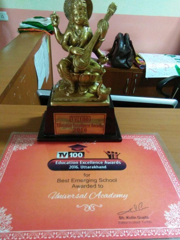 2016 Education Excellence Award Uttarakhand