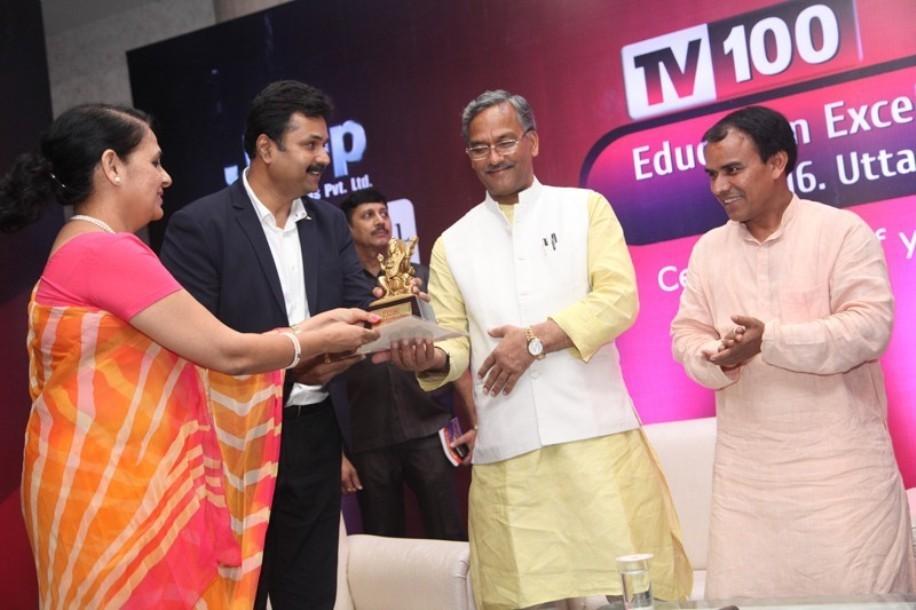 Best Emerging School Award from TV 100