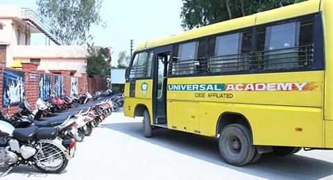 Universal Academy Dehradun School transportation