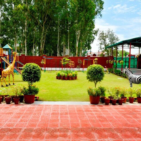 universal academy dehradun playground for students