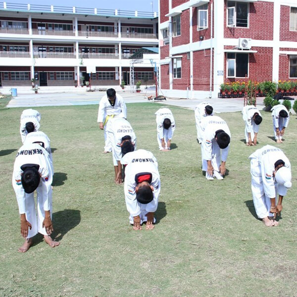 universal academy dehradun playground
