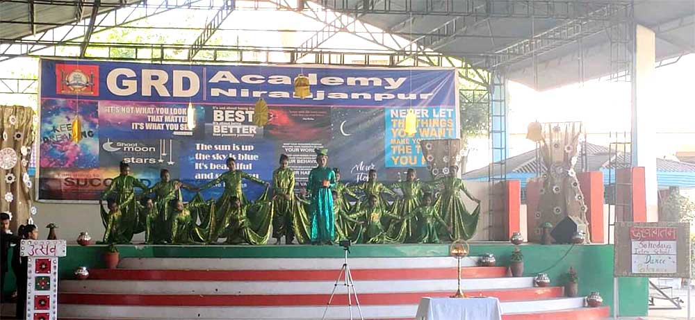 Dance Performance at GRD3
